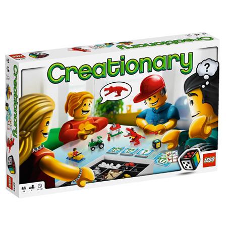 Boite du jeu Lego Creationary