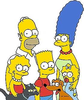 Image de la famille Simpson