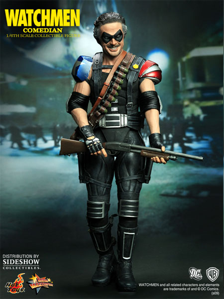 Photo de la figurine Comedian(Watchmen) de Hot Toys