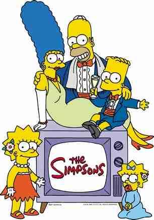 Image de la famille Simpsons