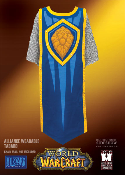 Tabard World of Warcraft de l'Alliance