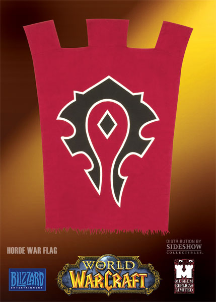 Drapeau World of Warcraft de la Horde