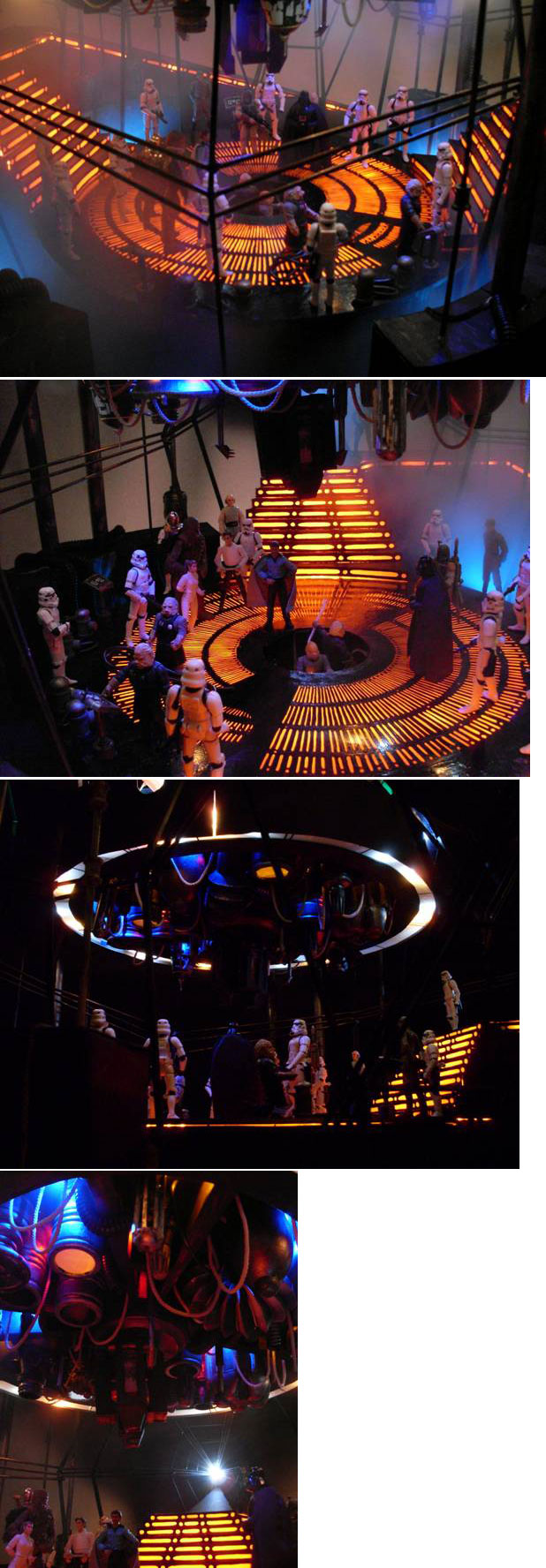 Images du duorama Star Wars