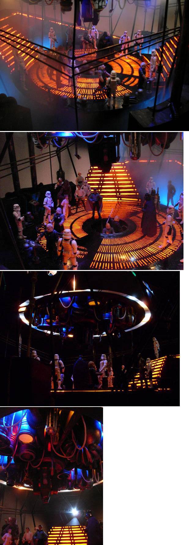 Images du duorama Star Wars