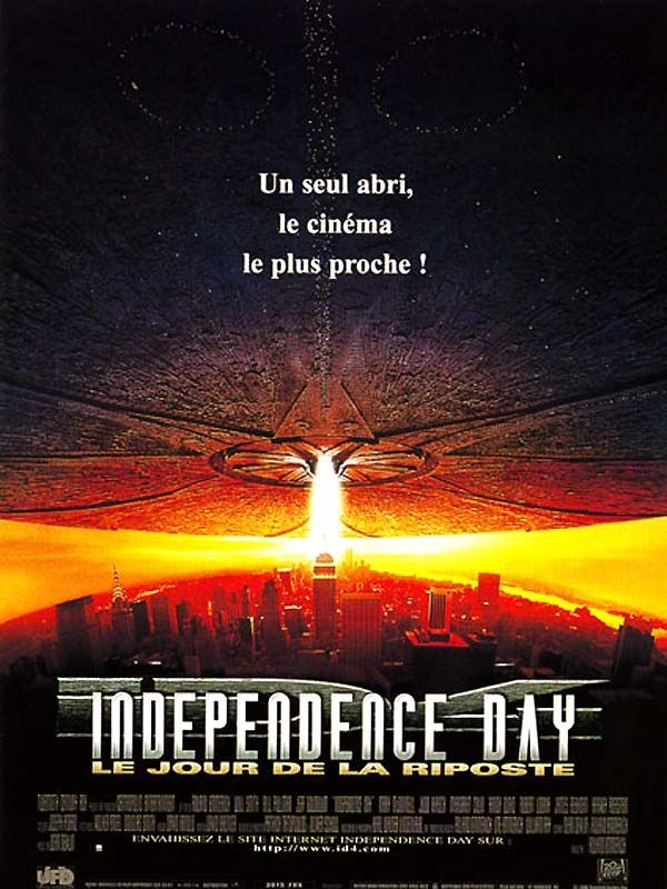 Affiche d'independance Day