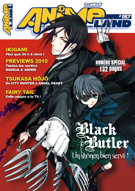 Animeland 157 couverture