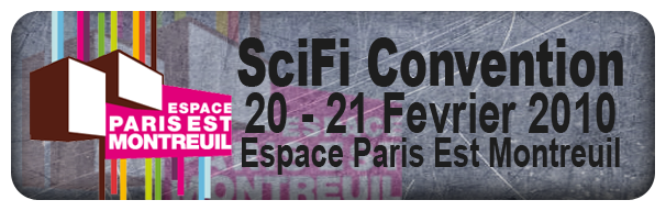 Bannière de la SciFi Convention