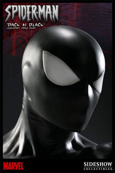 Buste Black Spiderman (Sideshow collectibles)