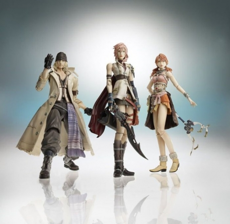 Figurines de Final Fantasy XIII
