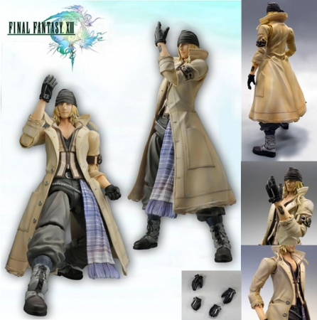 Figurine de Snow de Final Fantasy XIII