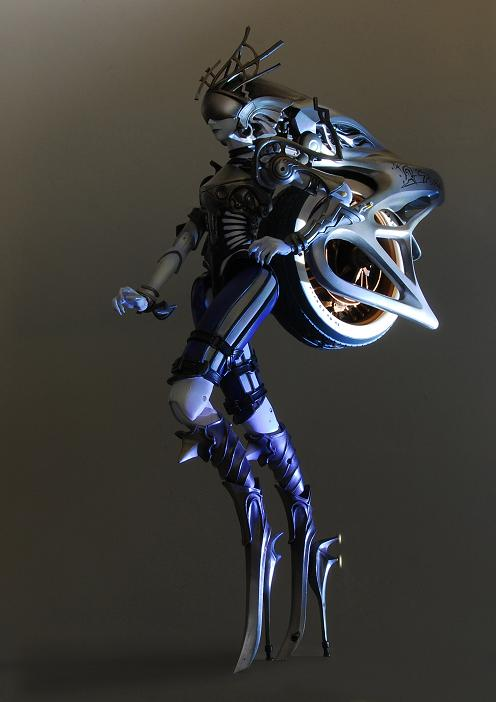 Figurine Shiva de Final Fantasy XIII