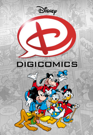 Interface de Digicomics