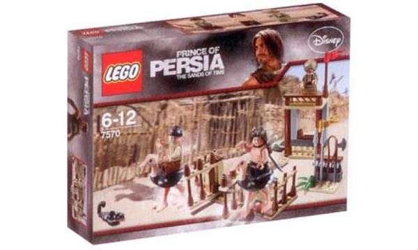 Lego la course d'Autruch de Prince Of Persia