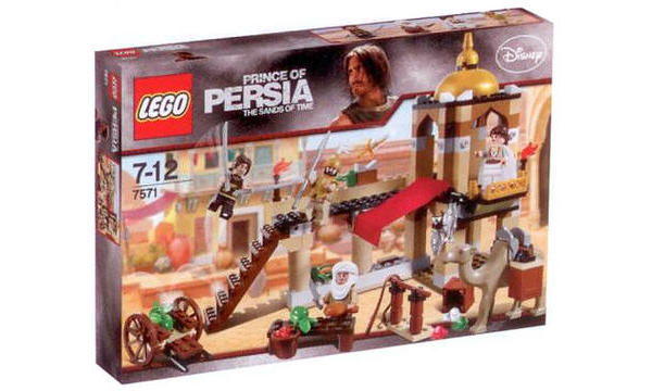 Lego : le combat pour la dague de Prince of Persia