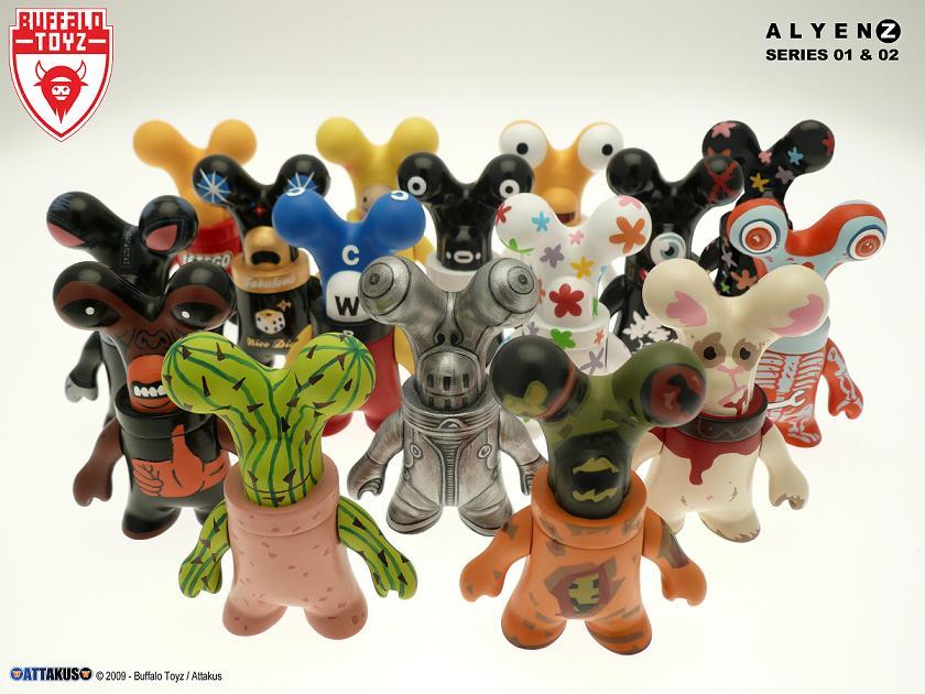 Alienz de chez Attakus / Buffalo Toyz