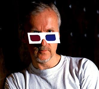 James Cameron et les lunettes 3D