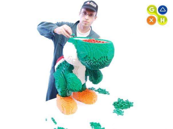 comment construire yoshi en lego
