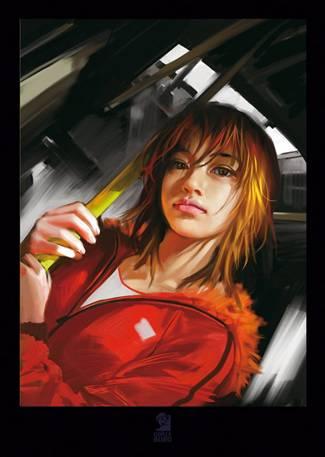 De nouvelles affichez chez comix buro affiche orange par for Buro angouleme