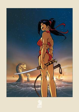Affiche de la couverture Cixi T1 par Vatine