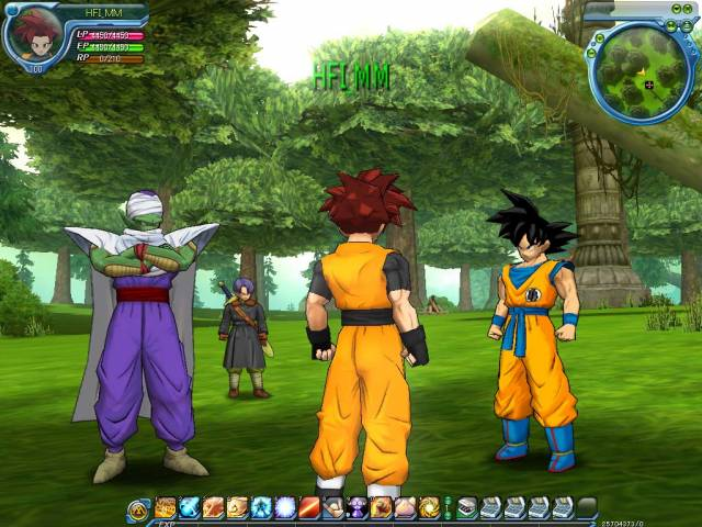 Capture de Dragon Ball Online