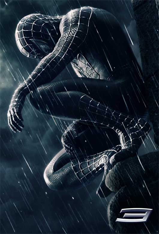 Affiche teaser de Spiderman 3