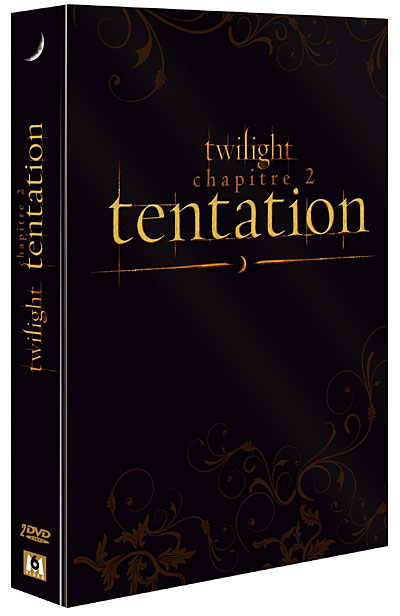 DVD de Twilight 2 Tentatio
