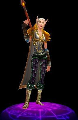 Exemple d'une figurine FigurePrints de World of Warcraft