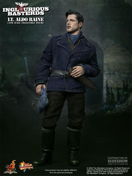 Figurine d'Inglorious Basters représentant Brad Pitt