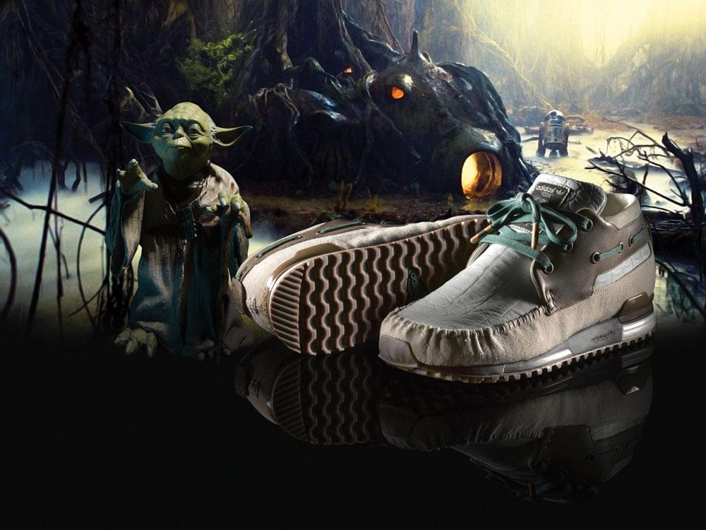 Chassure Adidas vs Star Wars