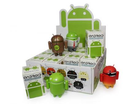 La première série d'Art Toy à l'effigie d'Android