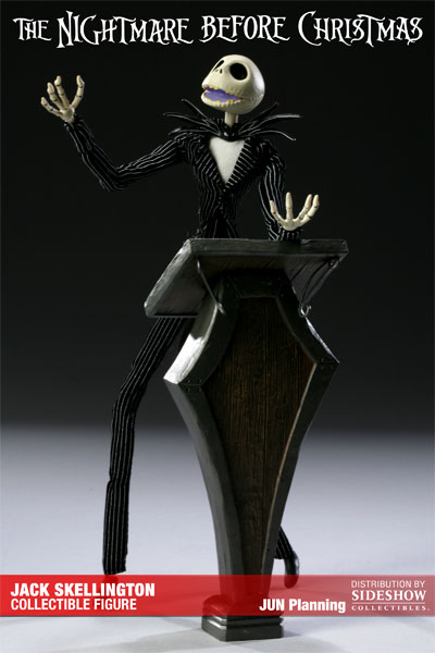 Personne de Jack du film Etrange Noel de Mister Jack par Tim Burton