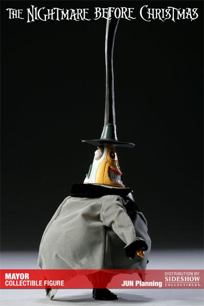 Personne du Maire du film Etrange Noel de Mister Jack par Tim Burton