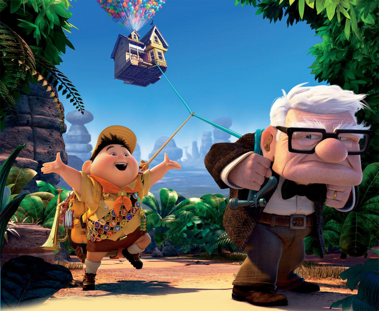 Image du film La-Haut des Studio Pixar