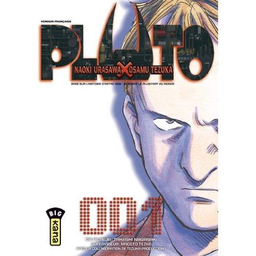 Couverture du tome 1 de Pluto de Naoki Urasawa