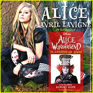 Clip Alice Undergrand tiré du film Alice au pays des Merveilles de Ti:m Burton, chanté par Avril Lavigne