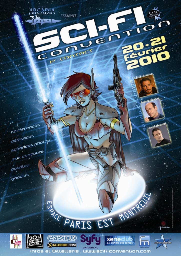 Affiche de la Sci Fi Convention