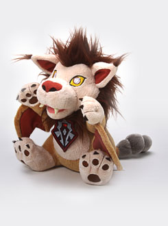 Peluche Wyverne / coursier du vent de World of Warcraft