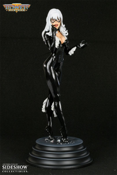 Figurine La Chatte Noire (Black Cat) par Bowen Designs