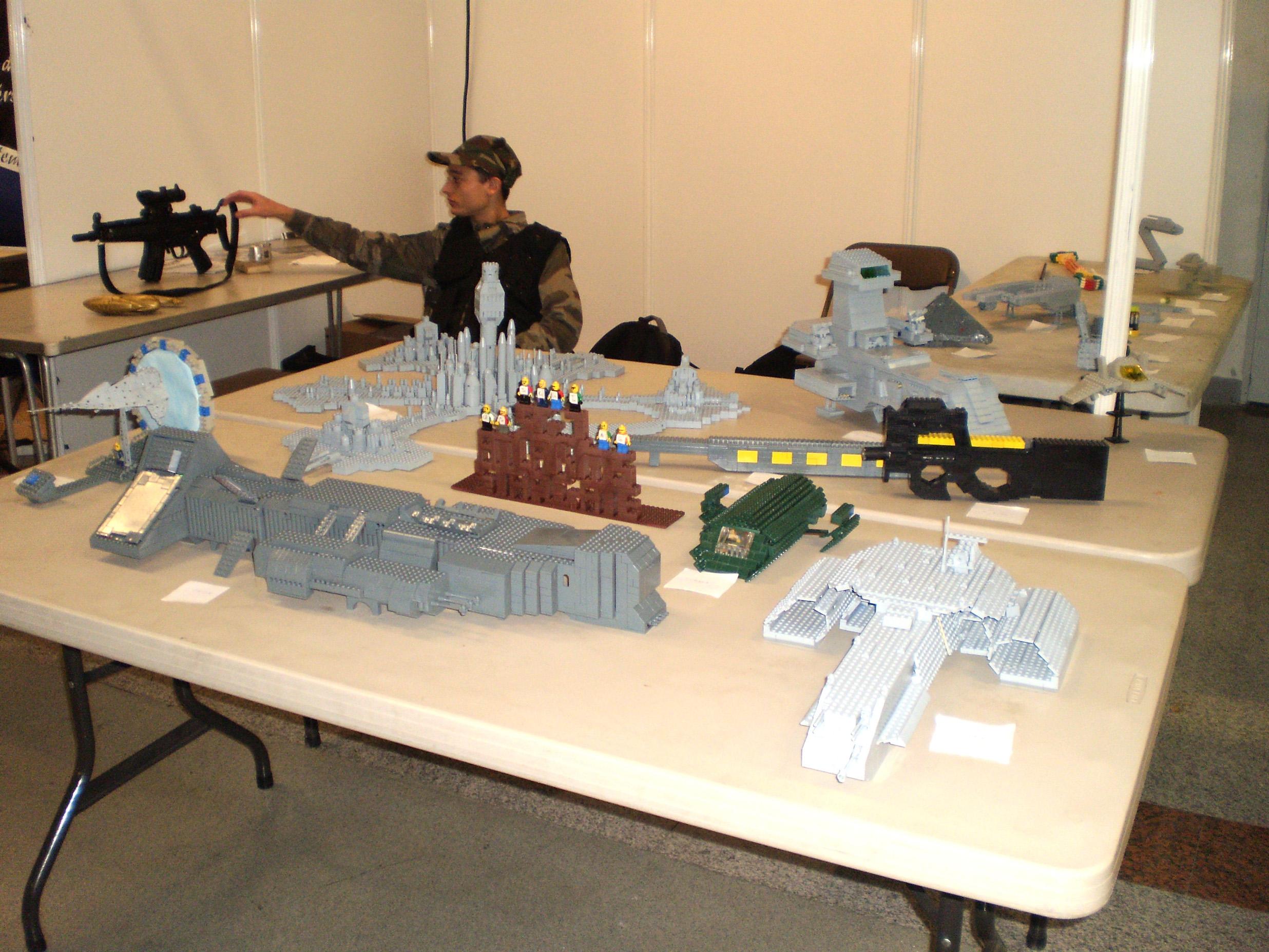 Le monde Stargate en Lego.