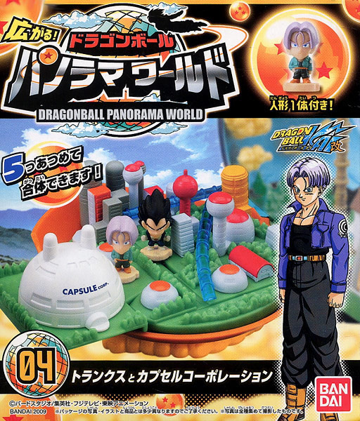Boîte 4 : Panorama World Dragon Ball Kai de Bandai