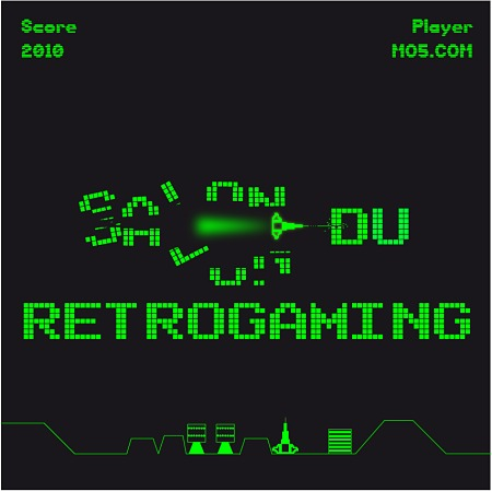 Logo du salon du retrogaming