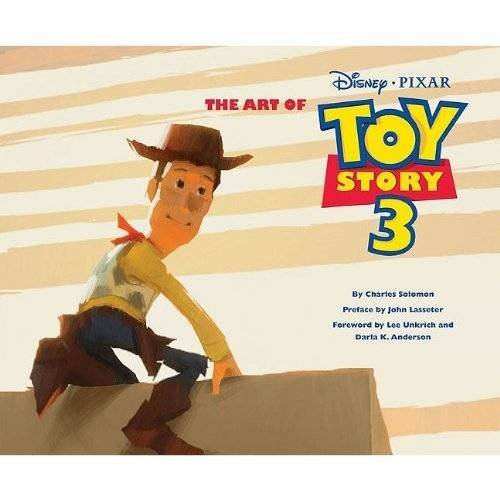 Couverture du livre the art of Toy Story 3