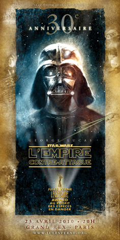 Affiche Empire Contre Attaque (DR)