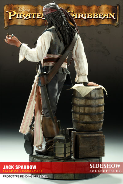 Figurine Pirate des Caraibes par sideshow collectibles