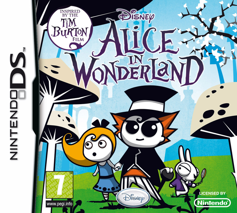 Capture d'Alice au pays des Merveilles sur DS (DR0