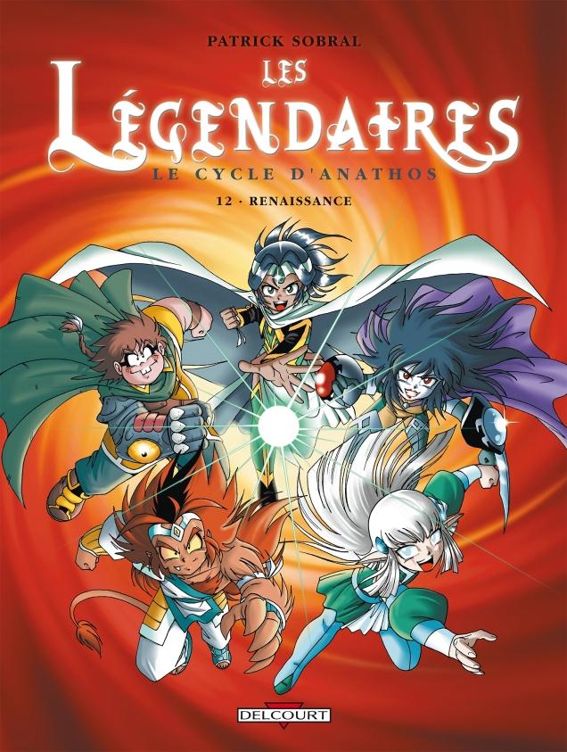 Couverture du tome 12 des Légendaires