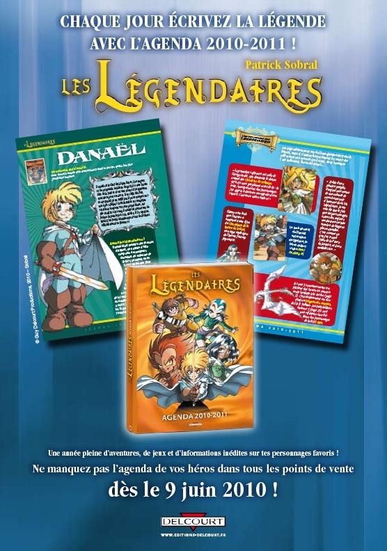 L'agenda 2010 - 2011 des Légendaires