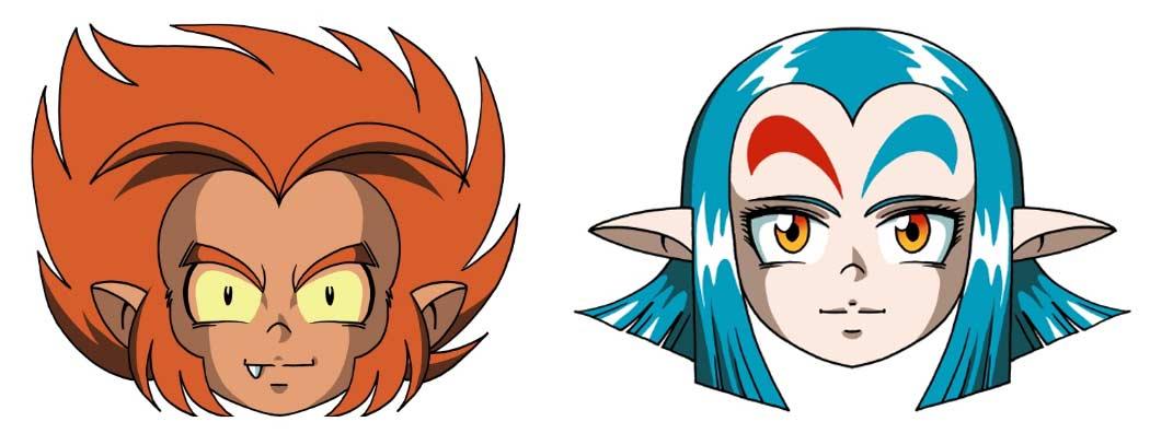 Les masques de Gryf de Shimy