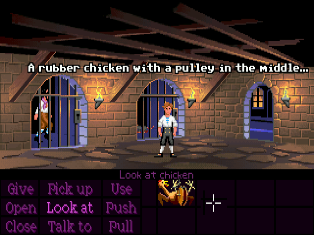 Capture du jeu Monkey Island