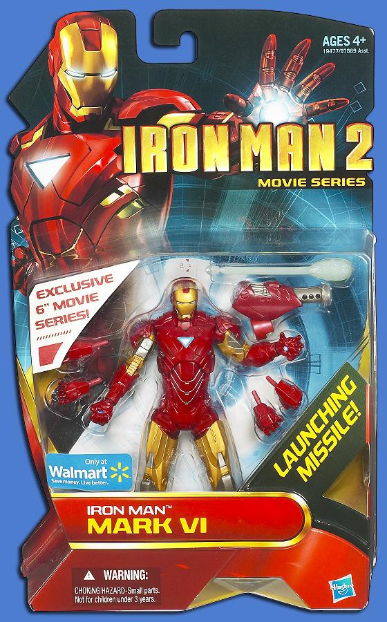 Figurine Iron man 2 par Hasbro